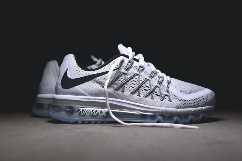 Nike Air Max 2016 Black Dark Grey White Flywire Triple