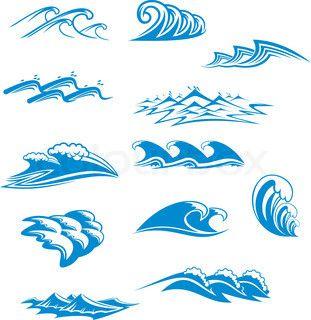 Ocean Wave Symbols