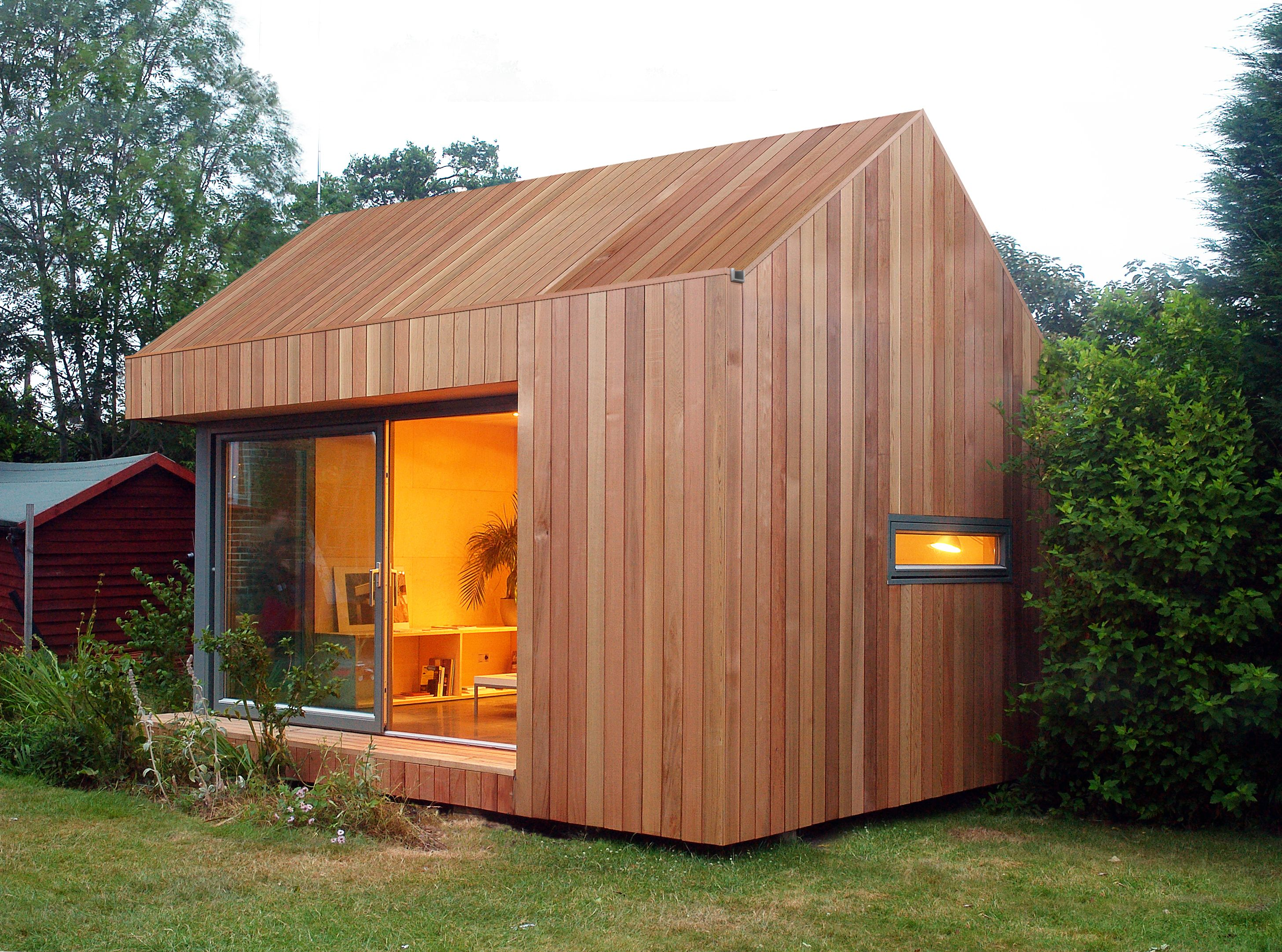 Ecospace Modulo A Doppia Falda Wooden House Design Wooden Cottage Modern Wooden House