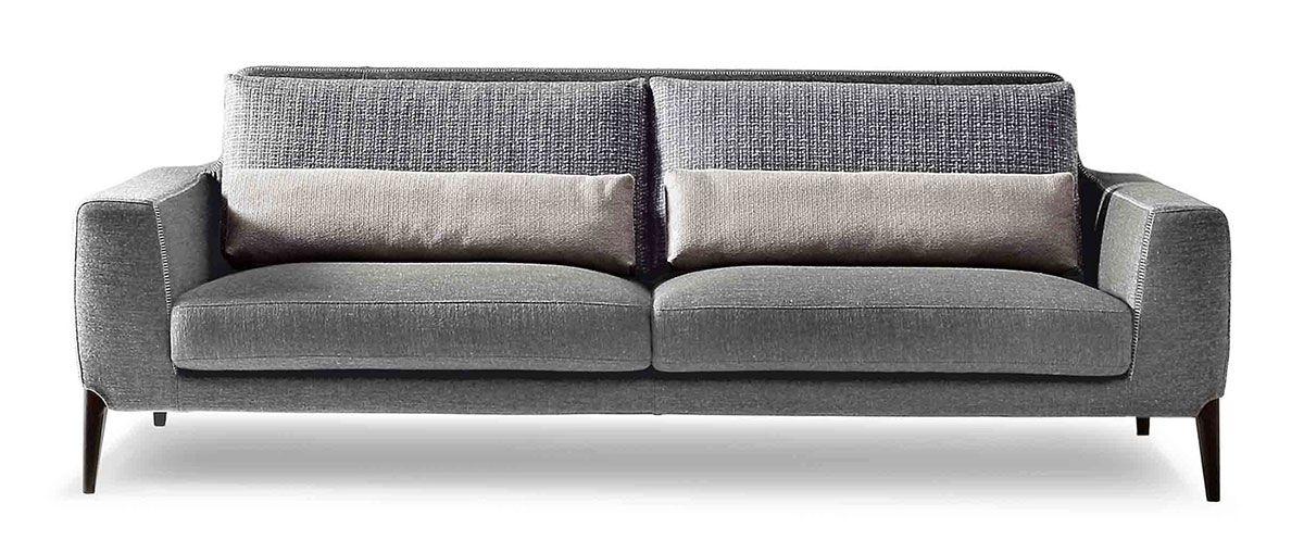 moderne bank 2-zits sofa design ditre italia miller | meubels ...