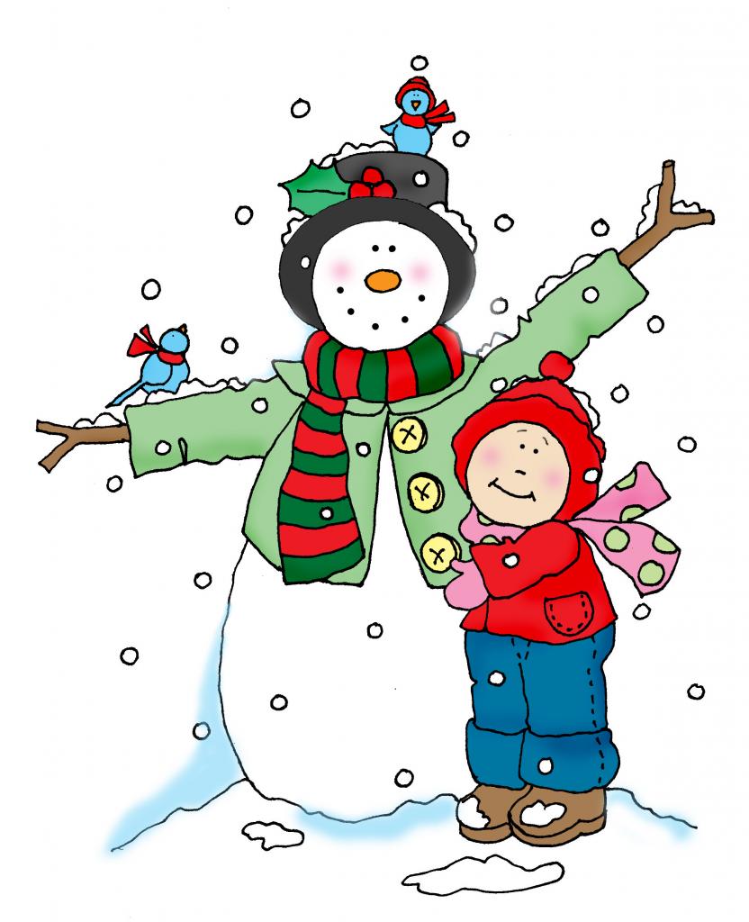 Snowman Friend color | Dearie Dolls Digi Stamps | HIVERN | Pinterest ...