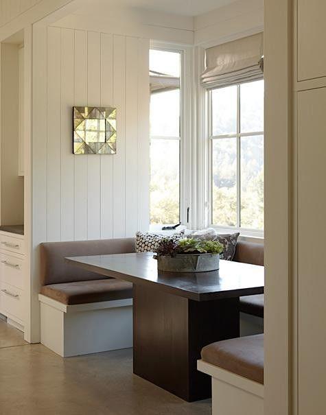 Breakfast nook ideas. Banquette. | farm kitchen | Pinterest ...