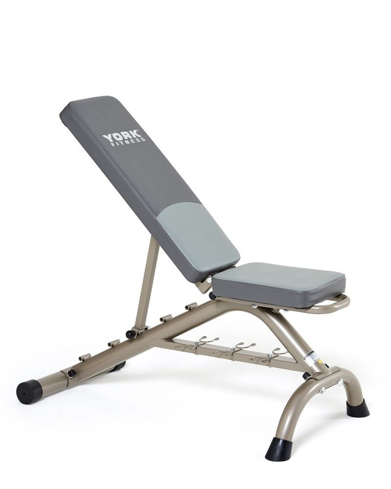 York Fitness 5 Seat Workout Versatility Position Bench Indoor Home Gym Training York Fitness Adjustable Weight Bench Weight Benches