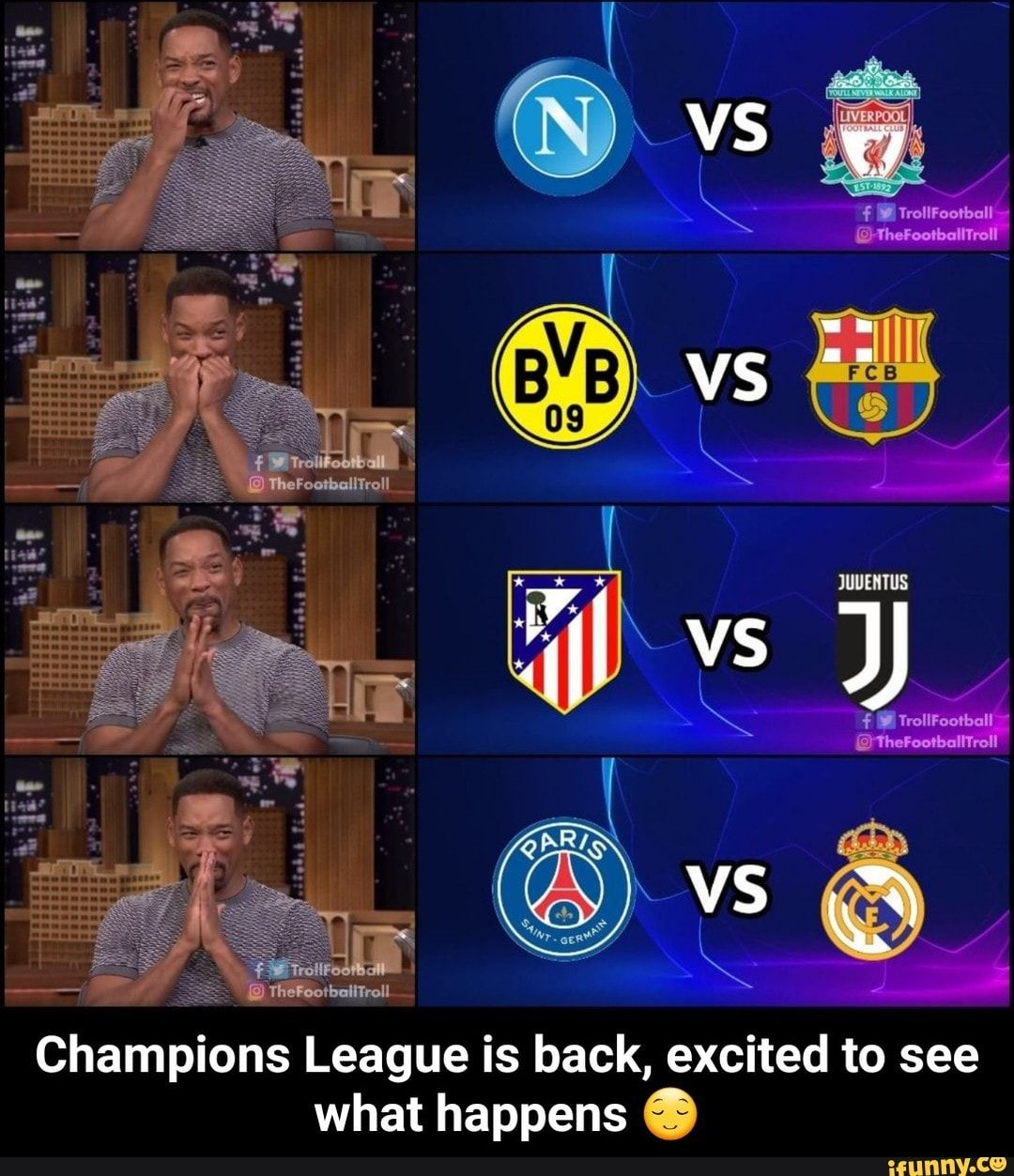 Soccer Memes Leo Messi Is Ready For The Champions League