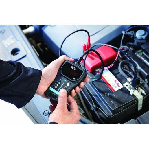 Ring 12V 125A Digital Battery Load Tester & Analyser