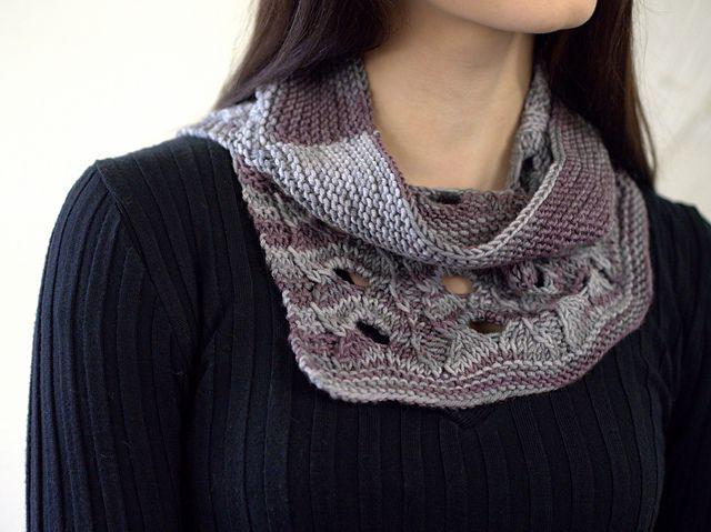 Reserve Split Cowl Free Knitting Pattern Knitting Patterns