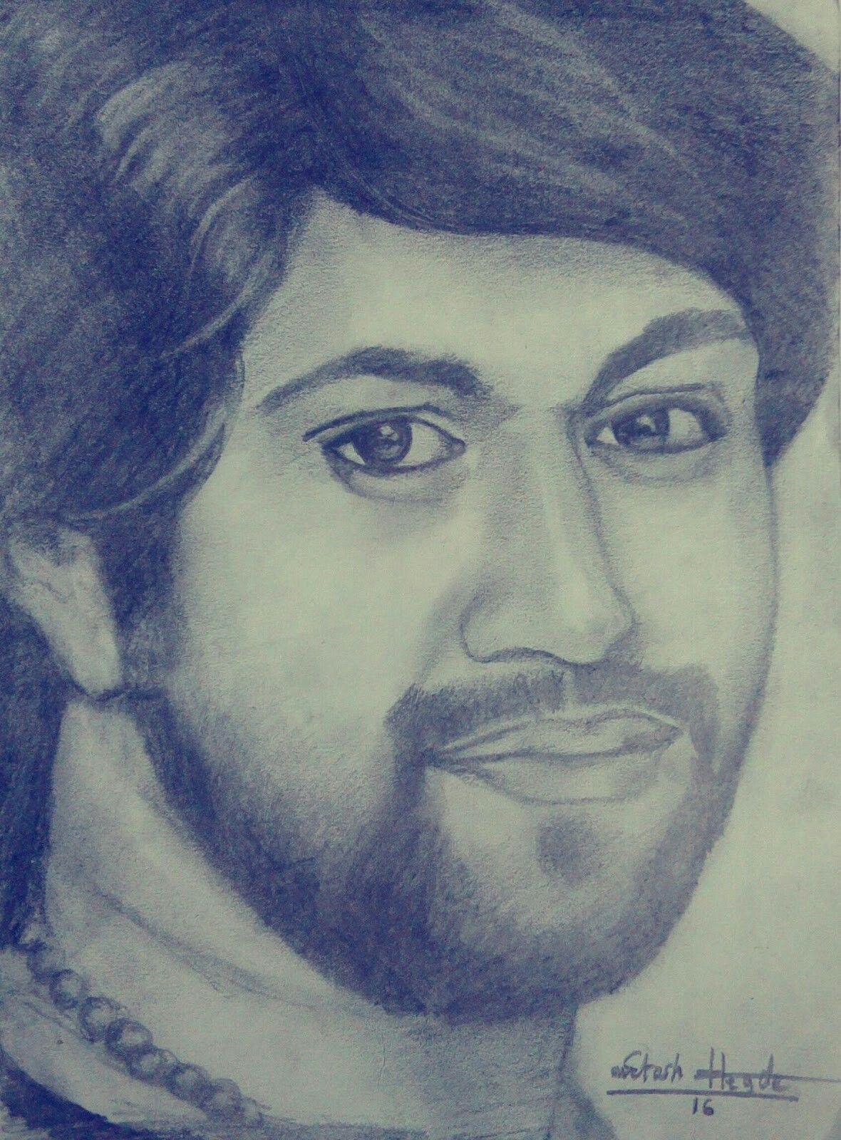 Yash kannada googly film hero portrait