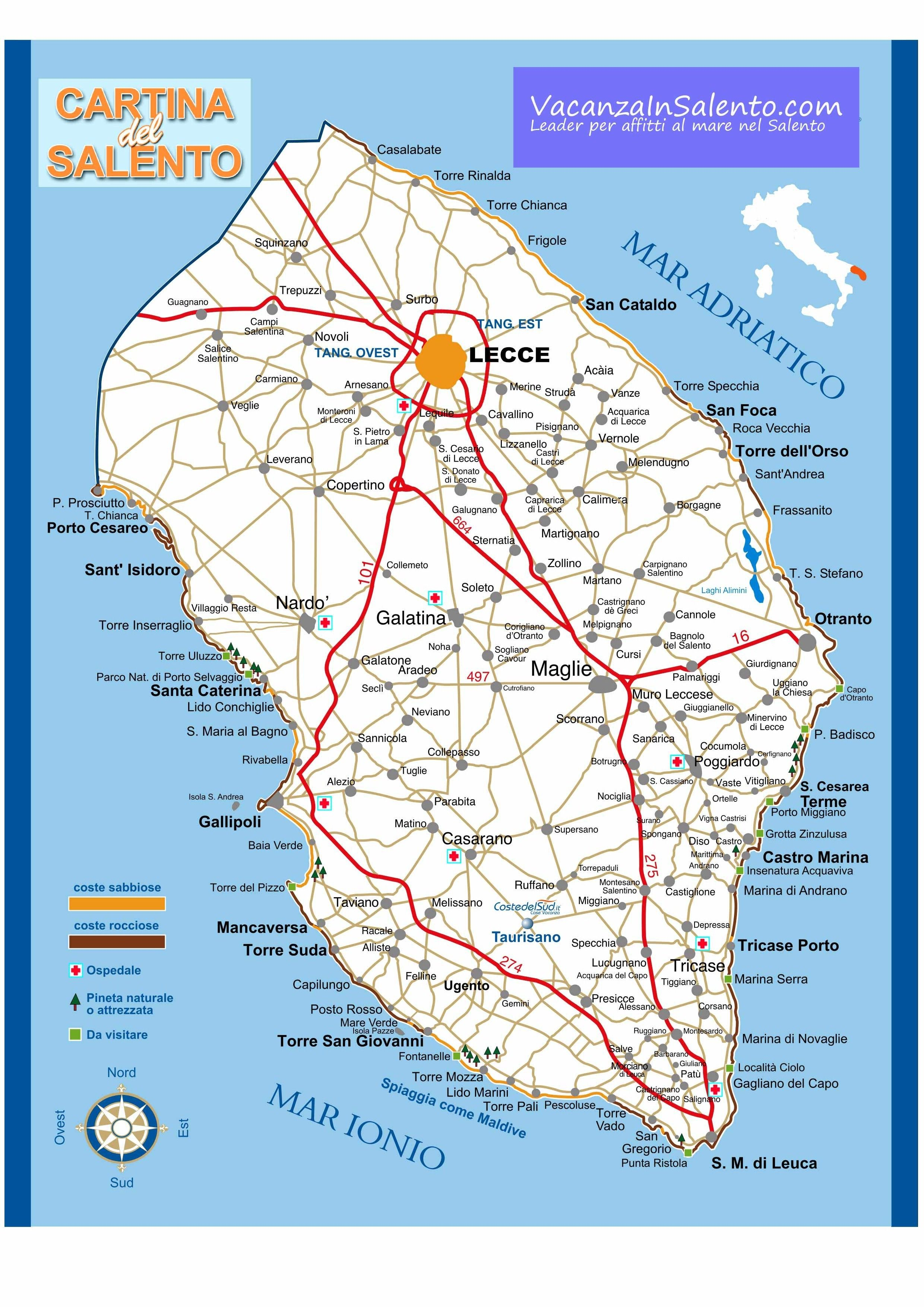 | ... , how to get the Salento, how to get in Salento, Puglia way to reach