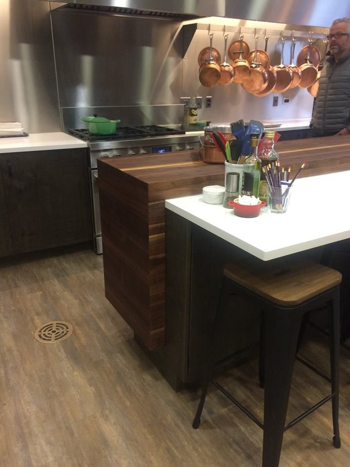 the new greenfield cabinetry kitchen has been installed at chicago s rh pinterest com