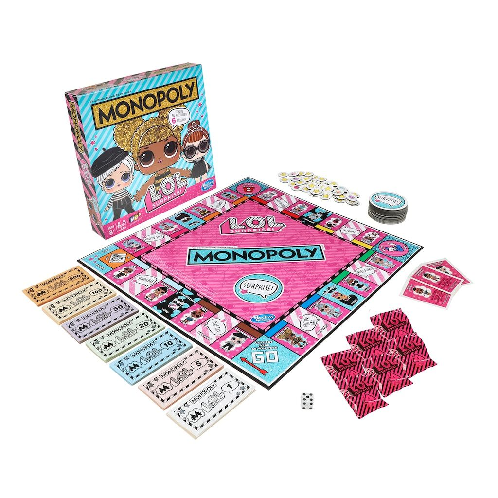 Monopoly Game L.O.L. SURPRISE! Edition Board Game For