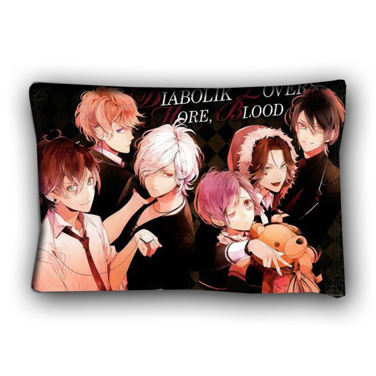 Onecos DIABOLIK LOVERS Logo Pillow Sofa Cushions Cosplay * Want additional info? Click on the image.
