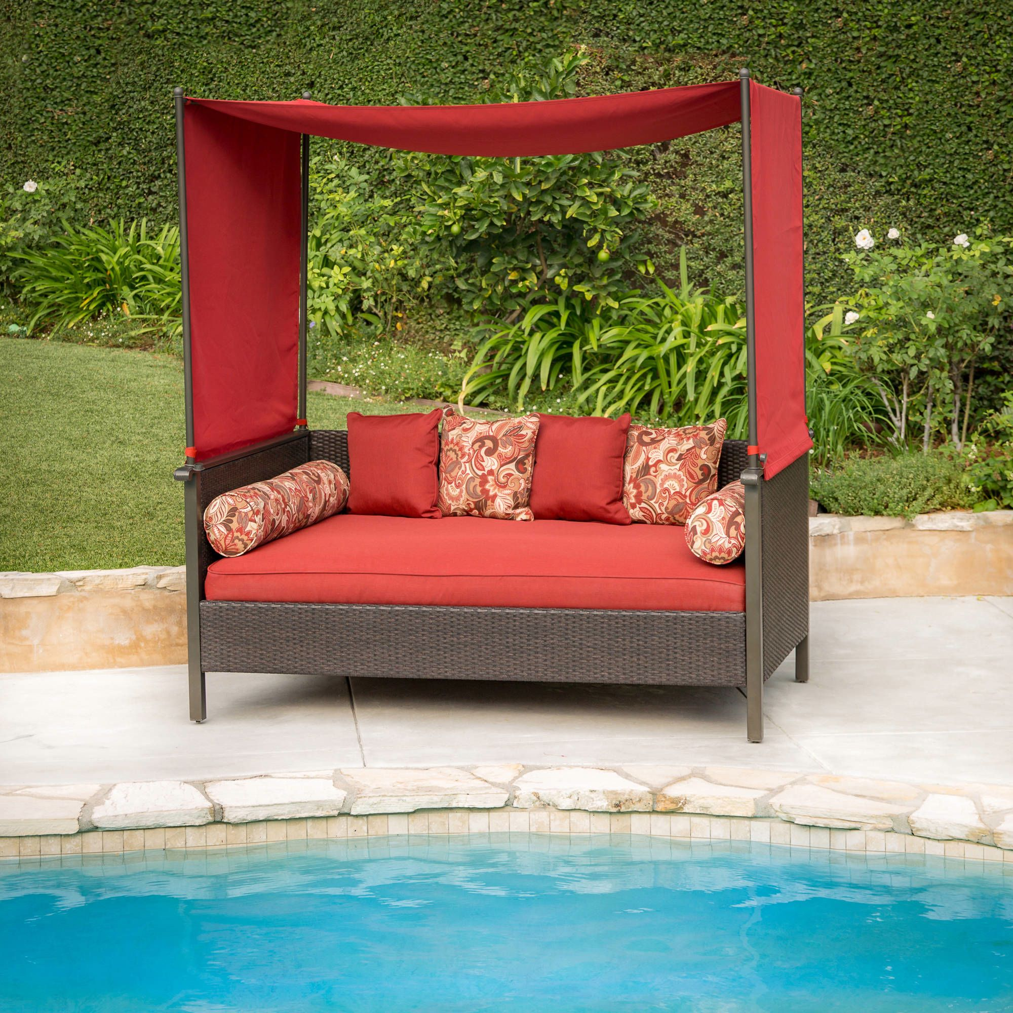 Better Homes And Gardens Providence Outdoor Day Bed Walmart Com
