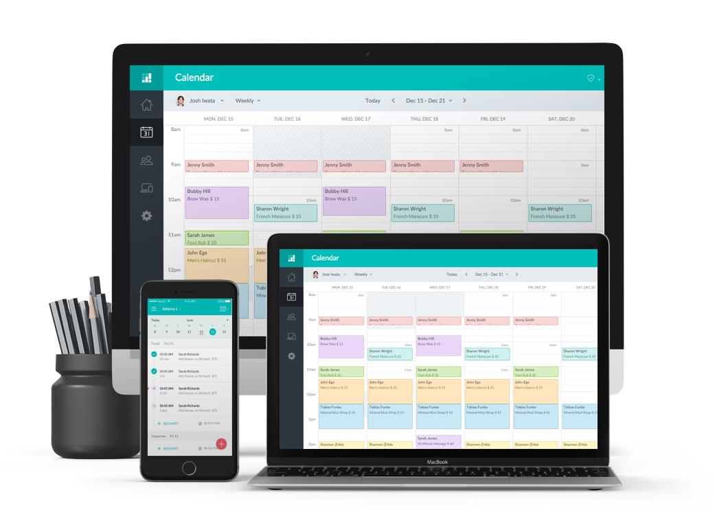 Devices Calendar software, Online scheduling, Scheduling