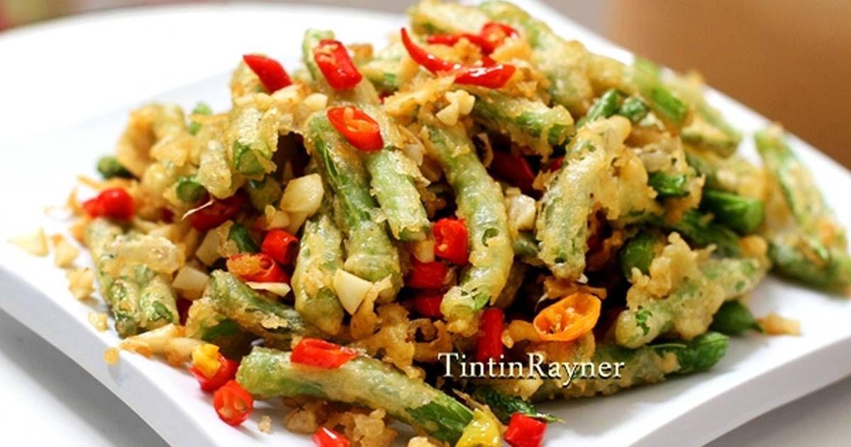 Resep Buncis Cabai Garam Kilat Khas Chinese Resto Oleh Tintin Rayner Resep Resep Masakan Indonesia Resep Masakan Resep Makanan Pembuka