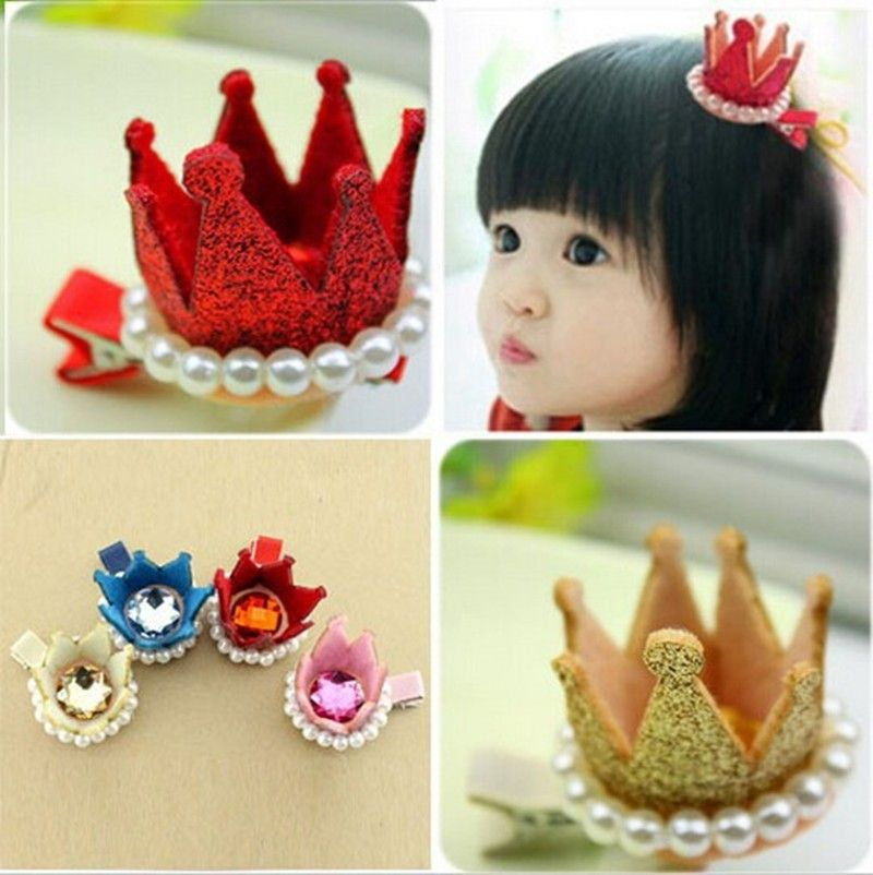 Kids Girls Baby Toddler Headband Hairpin Hair Clips Accessories Headwear DIY