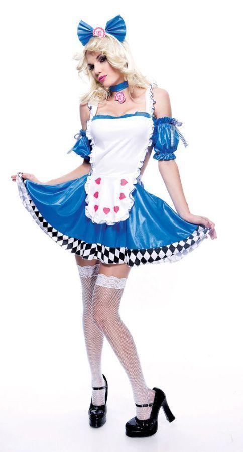 Костюм Озорной Алисы Карнавальные костюмы Pinterest Cosplay - cool halloween costume ideas for guys