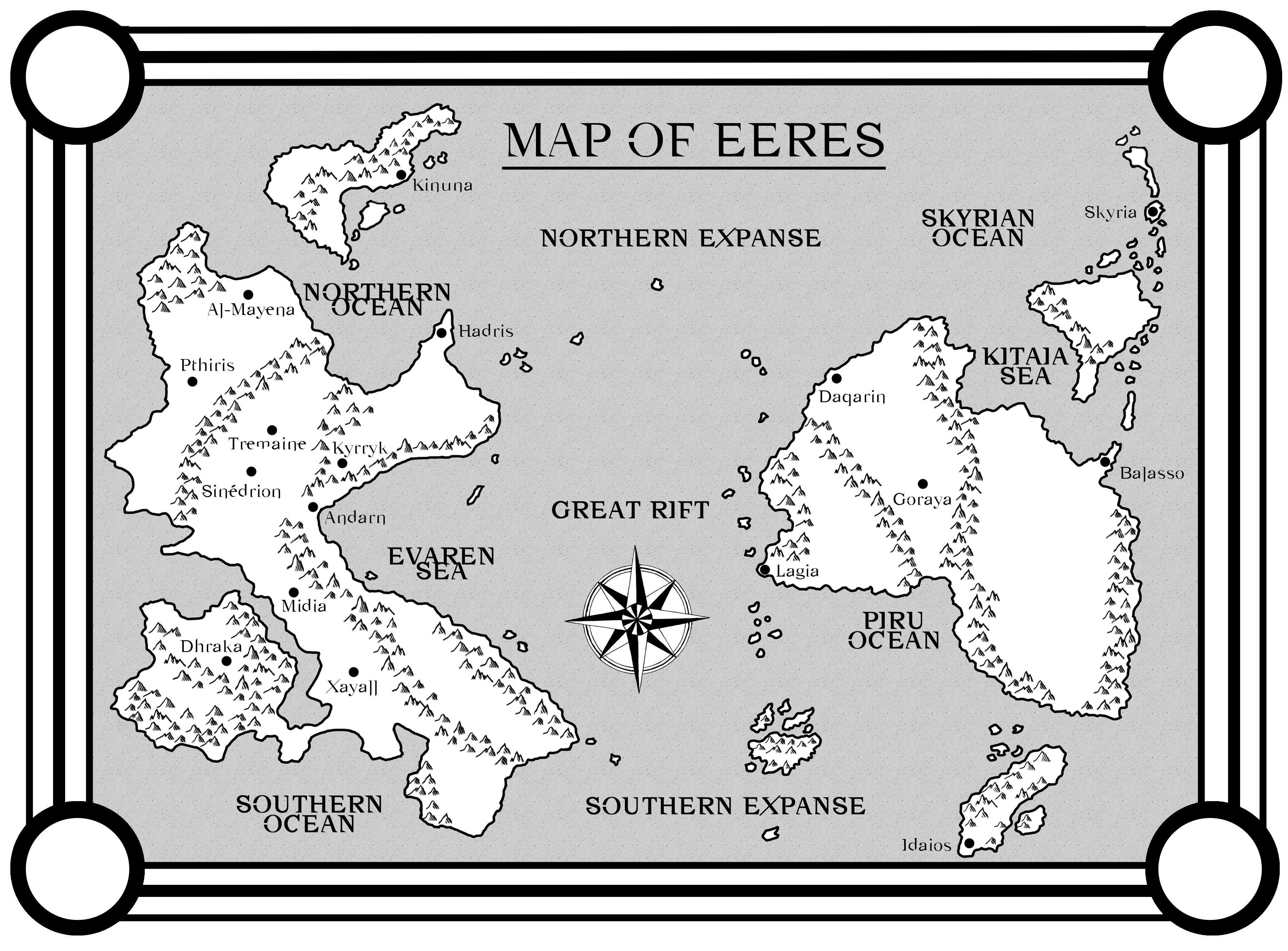 High resolution version of the Eeres Map, for your viewing pleasure.