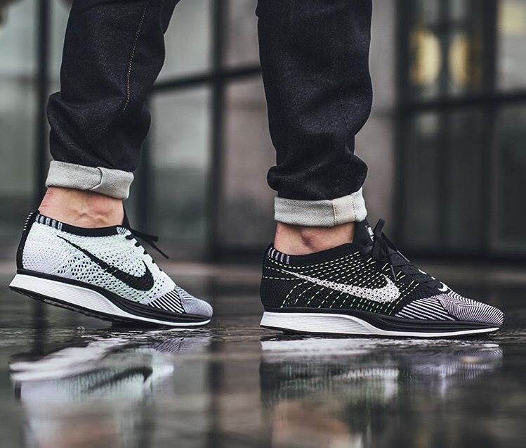 shoes, Sneakers fashion, Nike flyknit racer