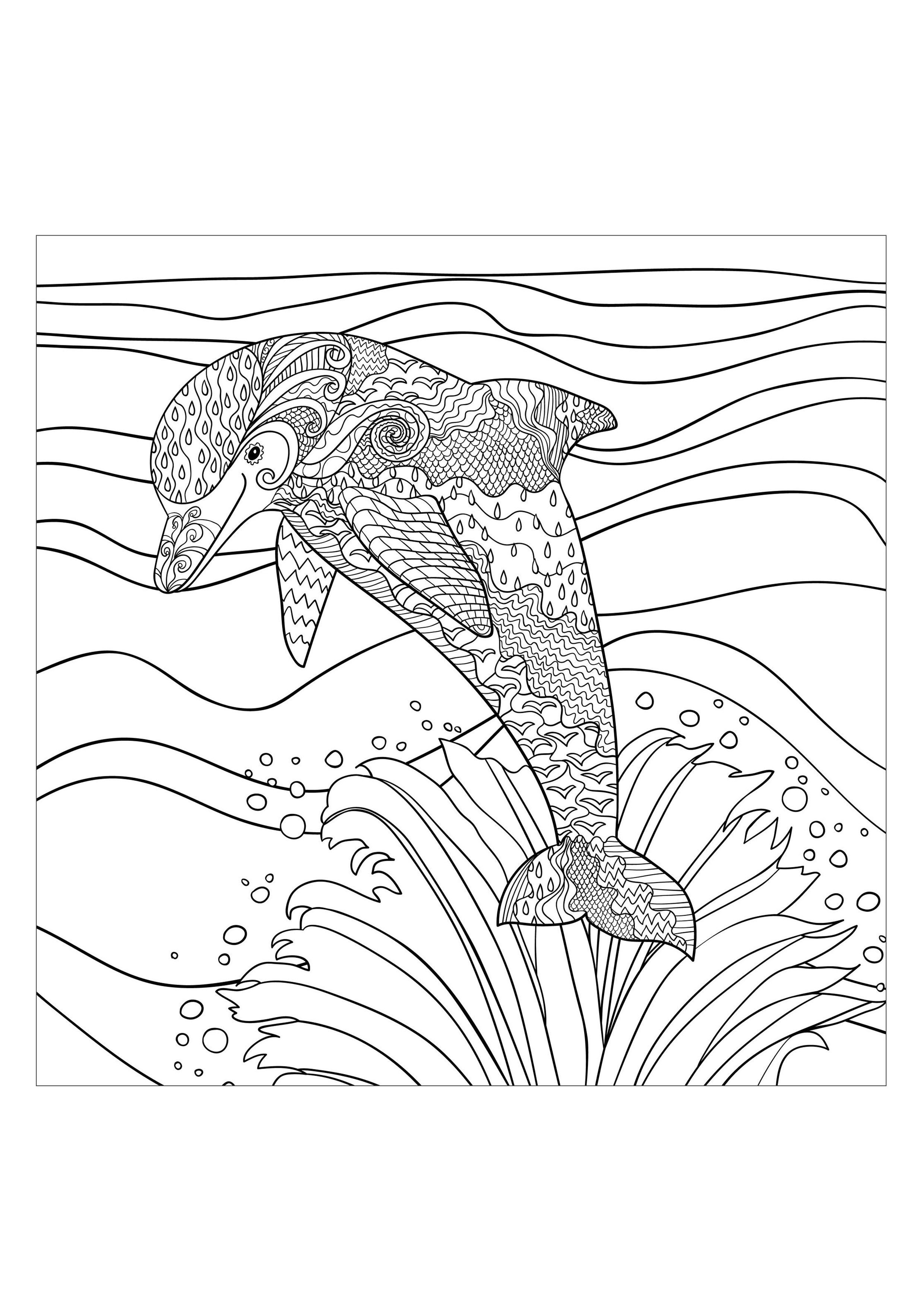 Coloring pages water