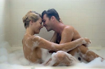 Showering with your partner