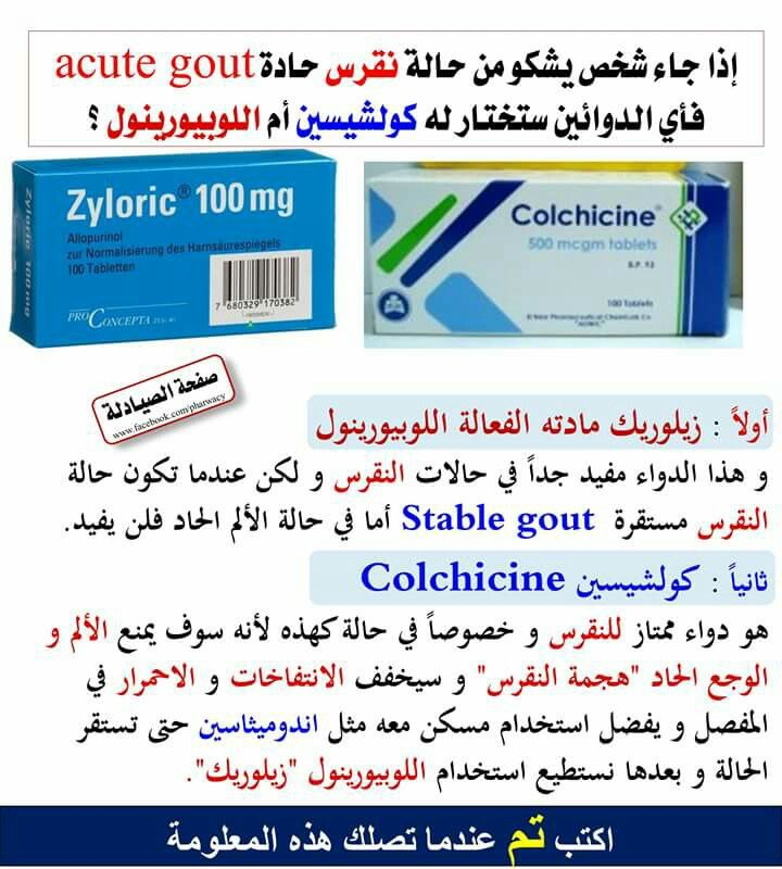 علاج النقرس Pharmacy Medicine Medical Information Health Info