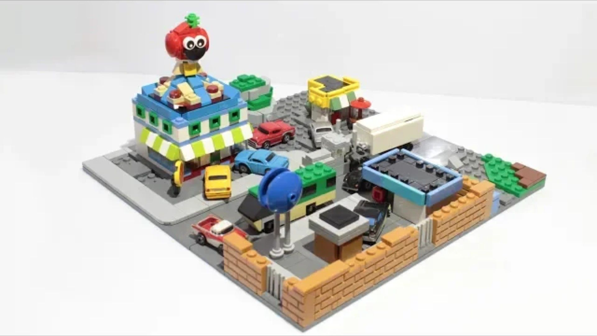 Tomato Town In Lego Fortnight Lego Cool Lego Creations Lego
