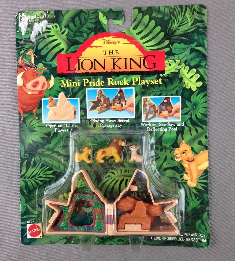 Disney The Lion King Mini Pride Rock Playset...super cute but small ...