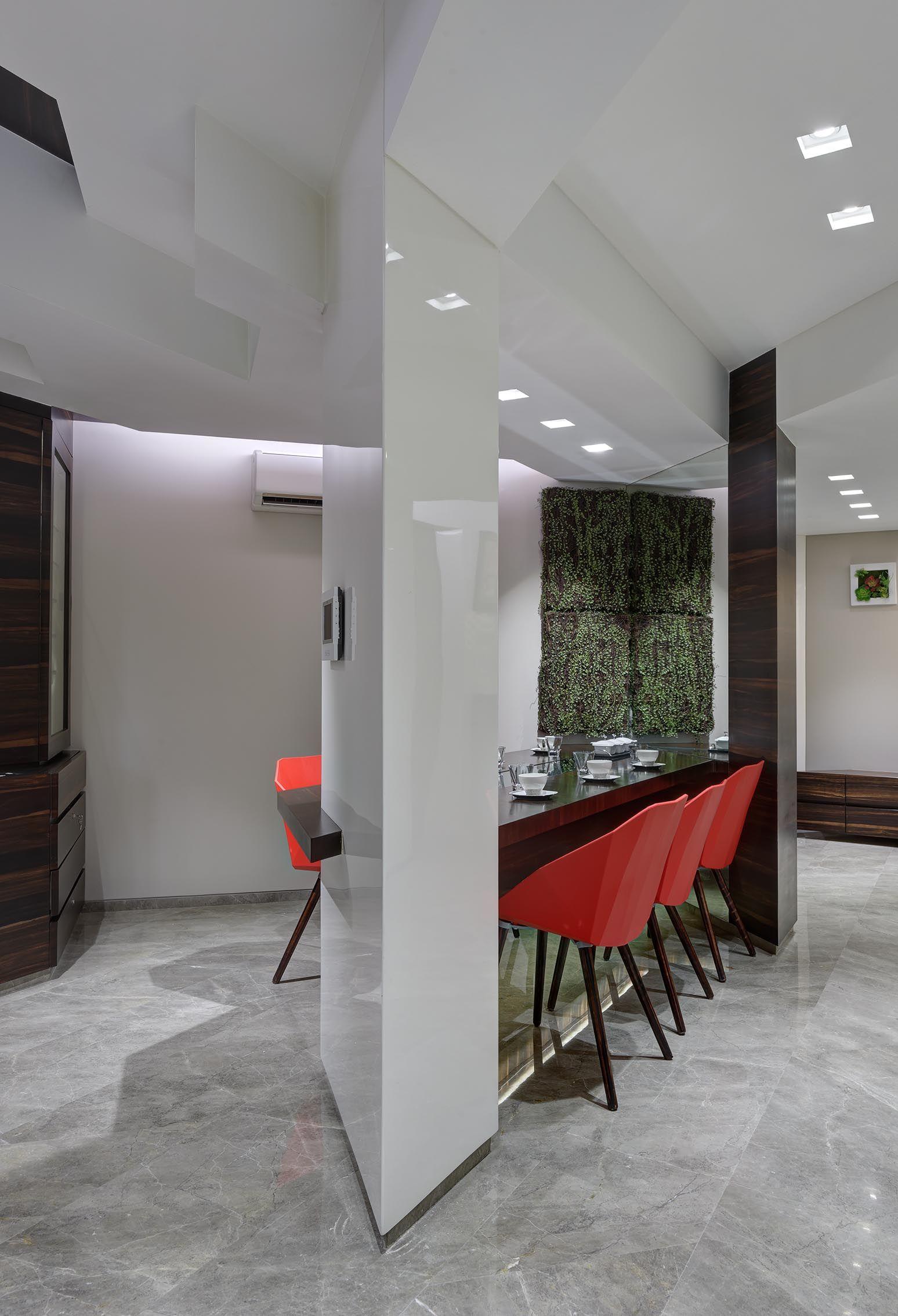 Home interior angles angle house angular designed  dining room  interior design