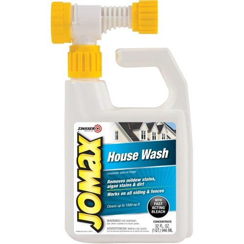 Zinsser Jomax House Wash 32 Oz Multi House Wash Mildew Stains Cleaning Glass