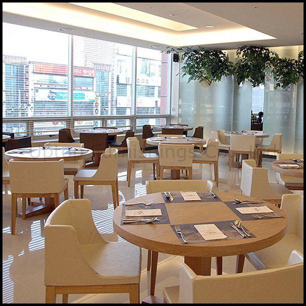 Hotel Wood Dining Table Chair Restaurant Furniture Set Spcs105 Magnificent Restaurant Dining Room Furniture Inspiration Design