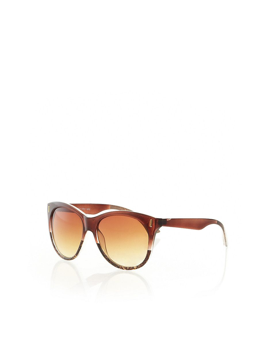 Rainbow Shops Square Sunglasses with Gradated Lenses  5.99  6bbd82f67d7