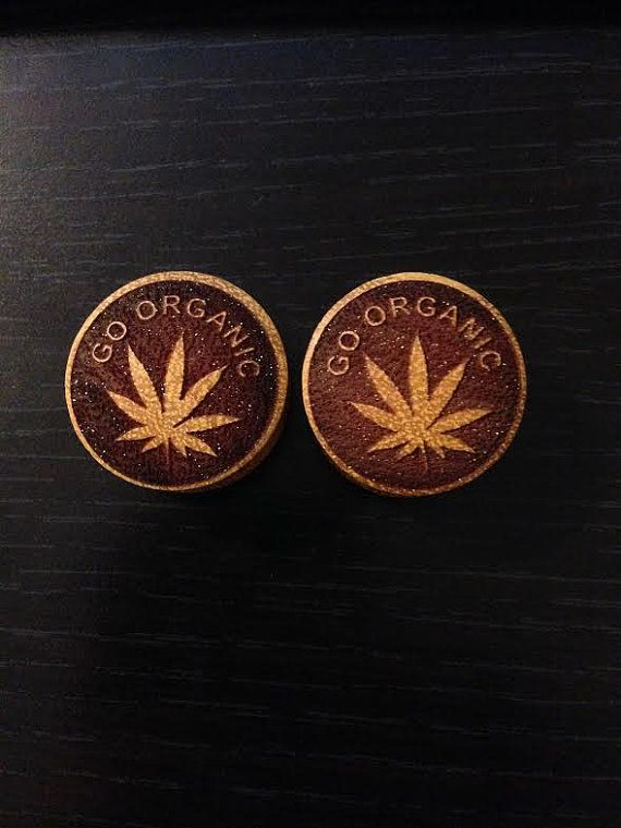 Pair of Display Go Organic Designed Plugs  SIZE 26mm by ULEKstore, $9.97