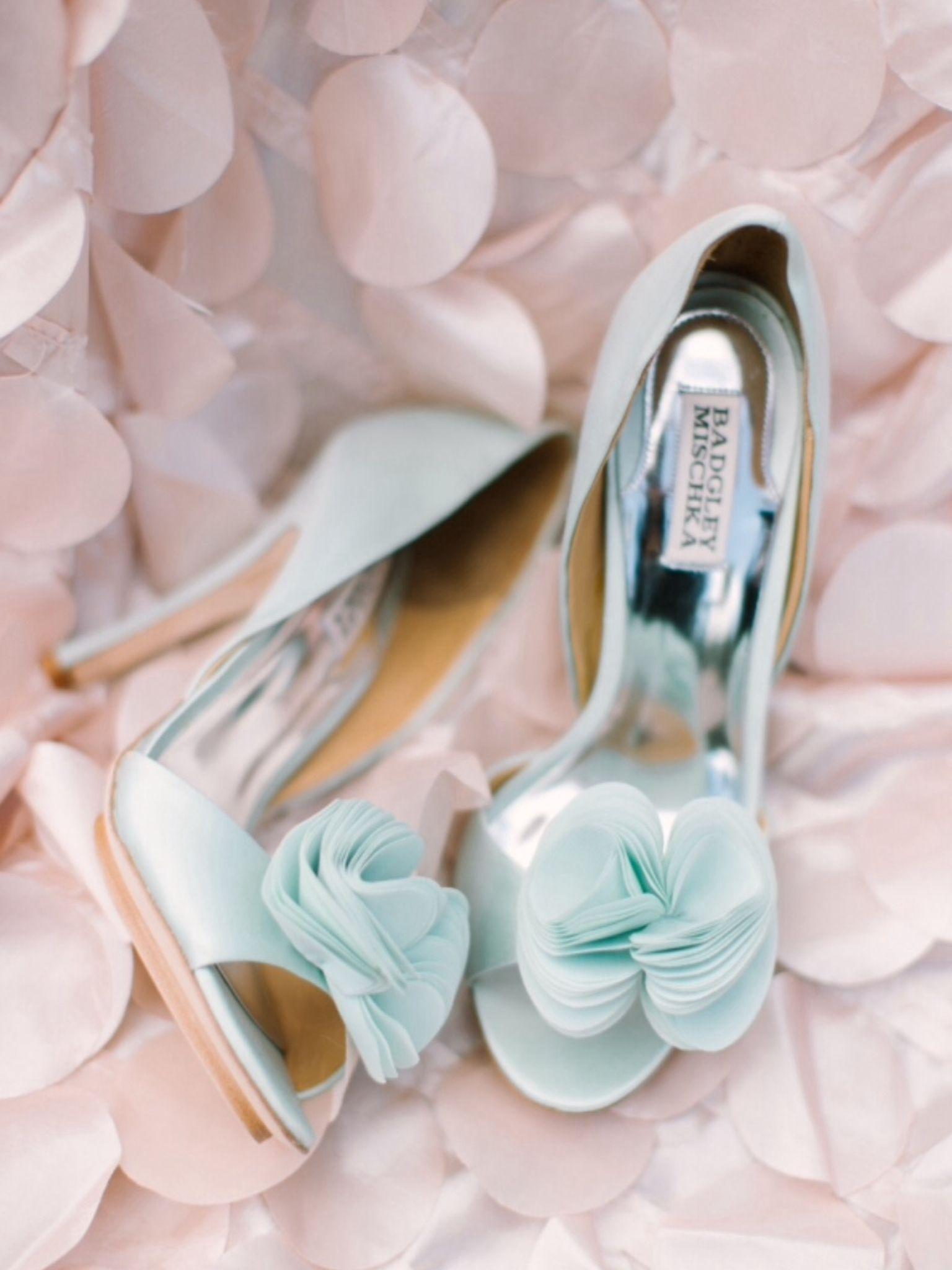new concept 61306 717d2 Brautschuhe, hellblau, High Heels, Hochzeit | Hochzeit ...