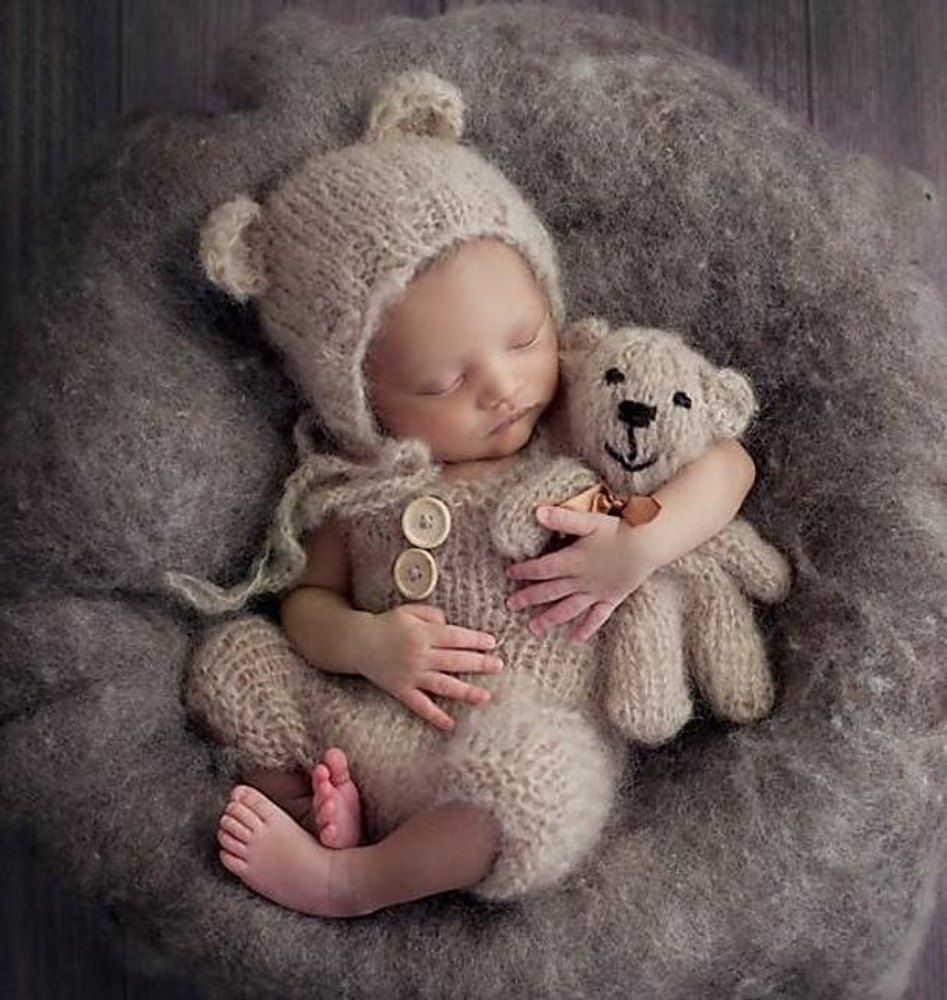 Baby Bear Set Knitting pattern by Crafty Stuff Baby Knits #beartoy
