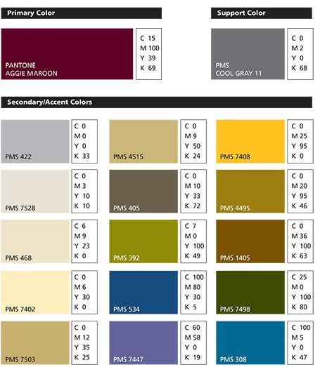 AM Print Colors