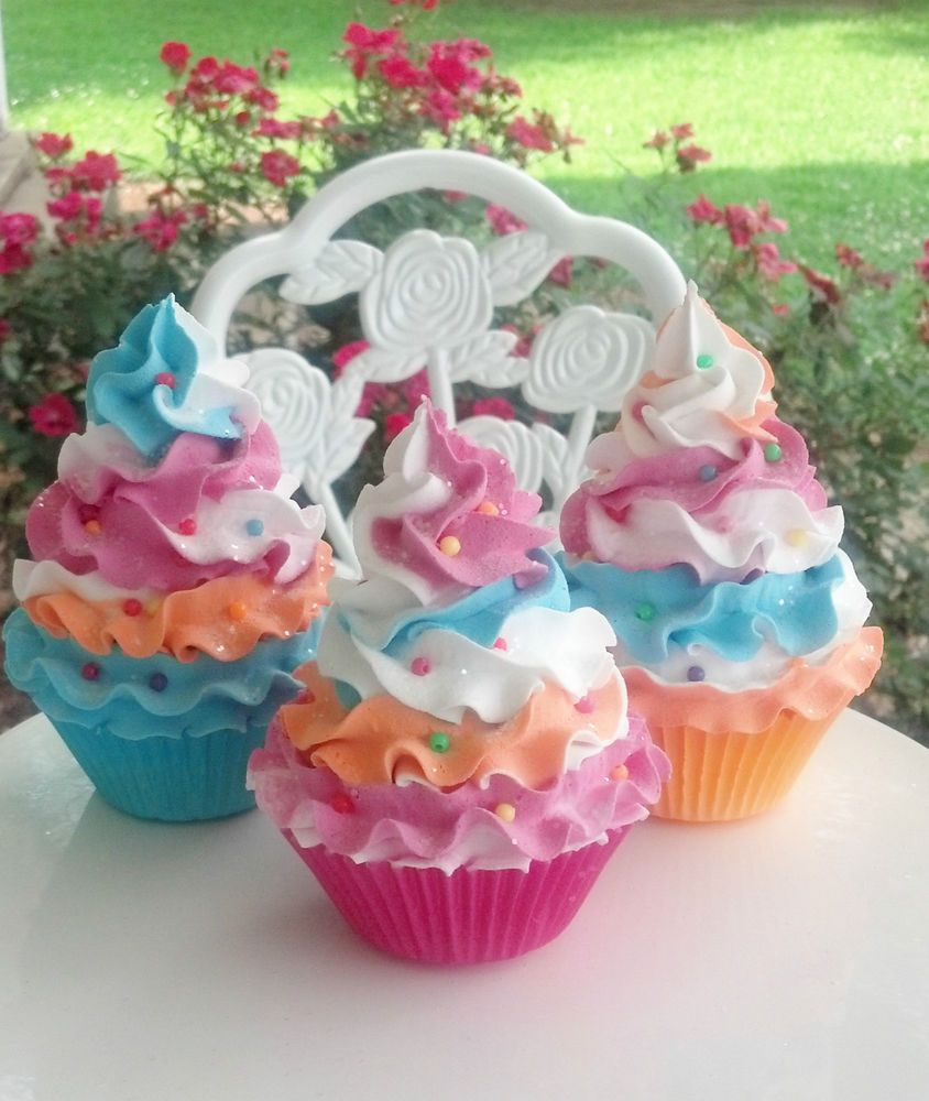 fake cupcakes photo props and birthday party decorations displays rh pinterest com