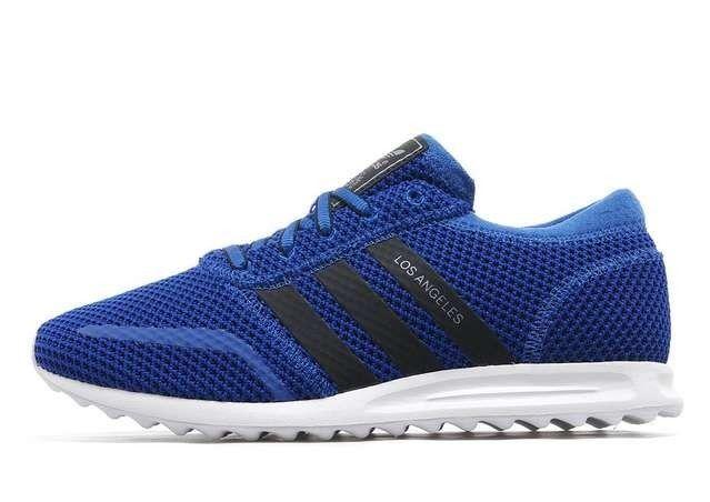 Brand New Adidas Originali Los Angeles Uomo Formatori Taglia 10 Regno Unito