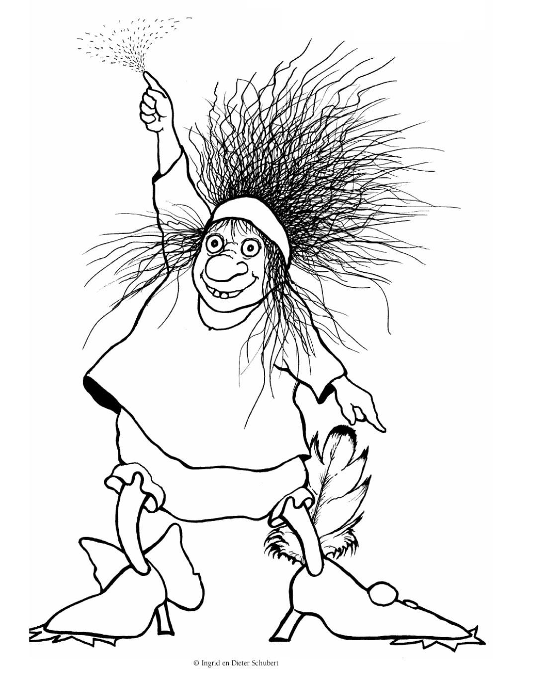 Pin Van Juf Kato Op Illustrations 1 Halloween Schilderij Heksen Griezelig
