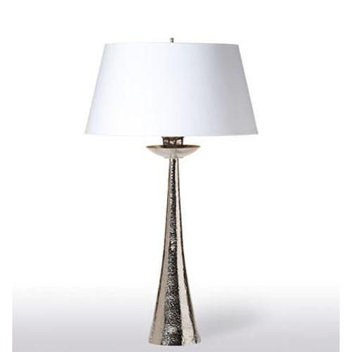 Hammered candlestick lamp by barbara cosgrove the collection candlesticksthe collectiontable lamps