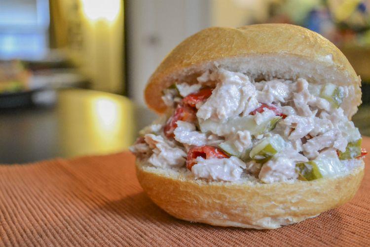 Tuna Sandwich made with Beano's Horseradish Sauce http://conroyfoods.com/shop.php