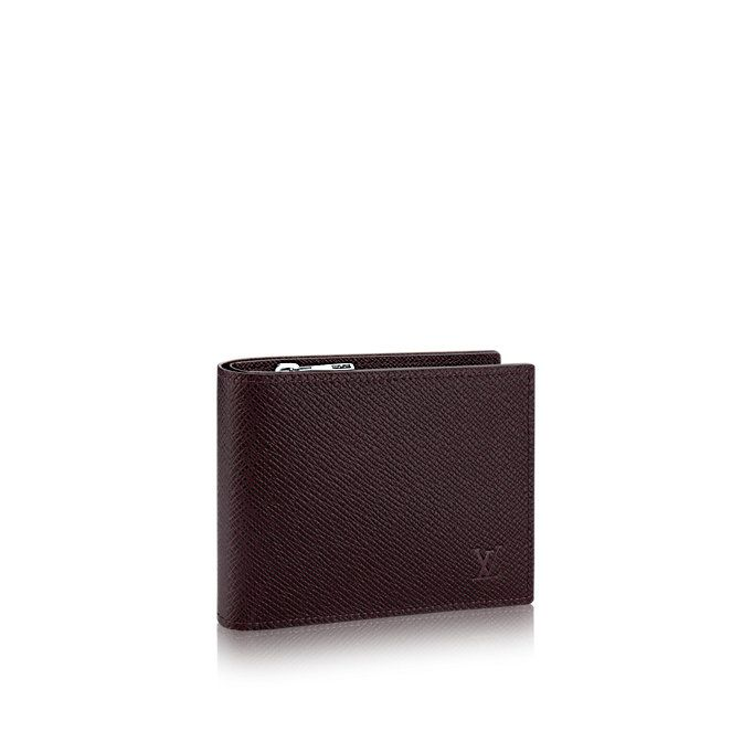 c6e50890170a Amerigo Wallet Taiga Leather in Men s Small Leather Goods Wallets  collections by Louis Vuitton