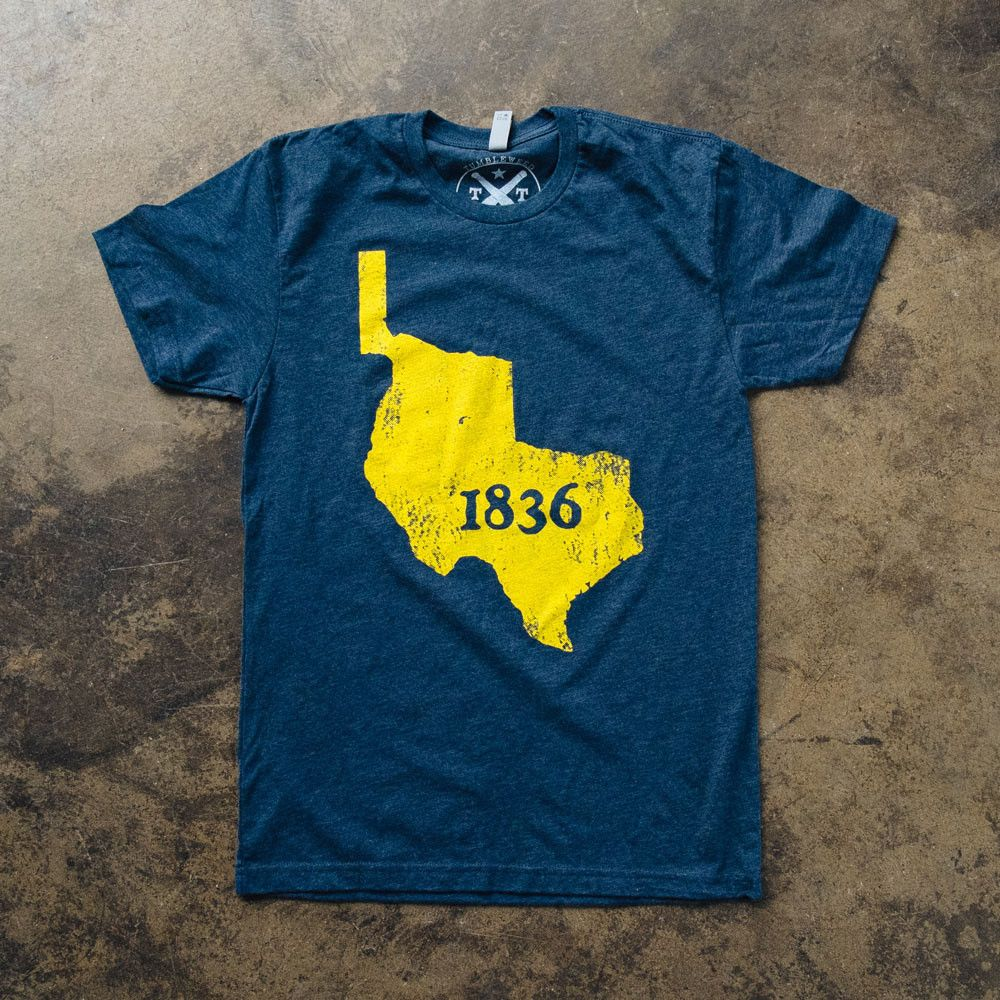 1836 T-shirt From Texas Humor Store