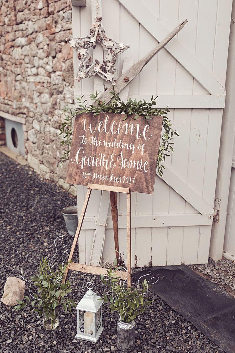 Wedding decorations country december 2018 Magical Wonderland Askham Hall Wedding Winter in   My Future