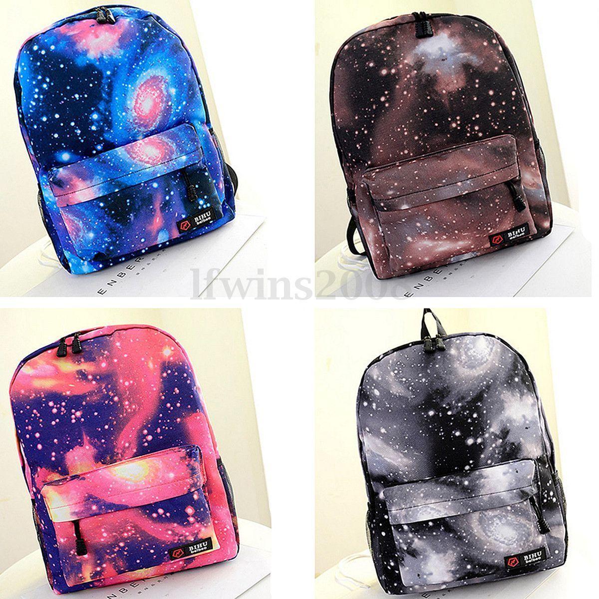 24 Estilo Mochila Bolso Bolsa Hombro para Mujers Viaje Galaxy Escolar  Backpack in Ropa e21c48cc7ed83