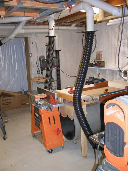 Awesome Dust Collection System Design Home Shop Photos   Interior .
