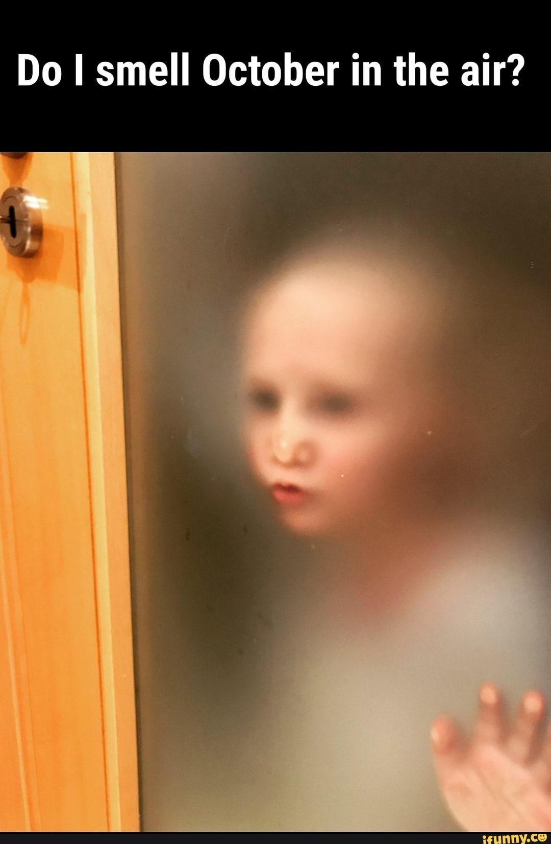 Do I Smell October In The Air Ifunny In 2020 Bathroom Doors Design Fails Bathroom Humor