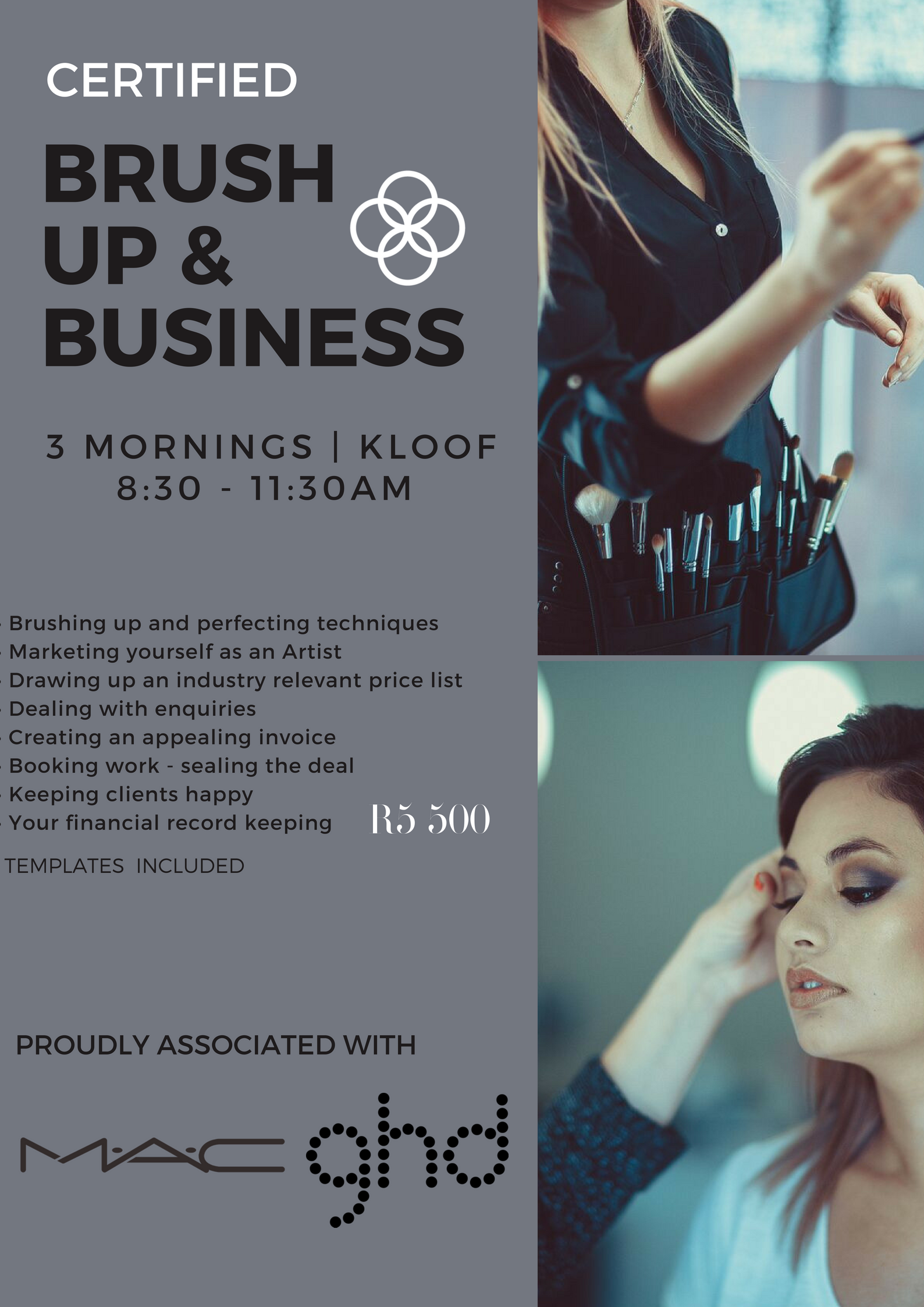 Business Course Durban South Africa Makeup Course Bridal Hair And Makeup Business Courses