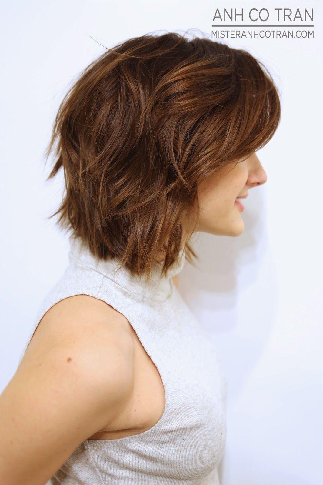 Mister anhcotran beautifully brunette soft undercut hair