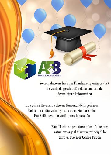 Diseños De Tarjetas De Invitación Para Graduación Colección