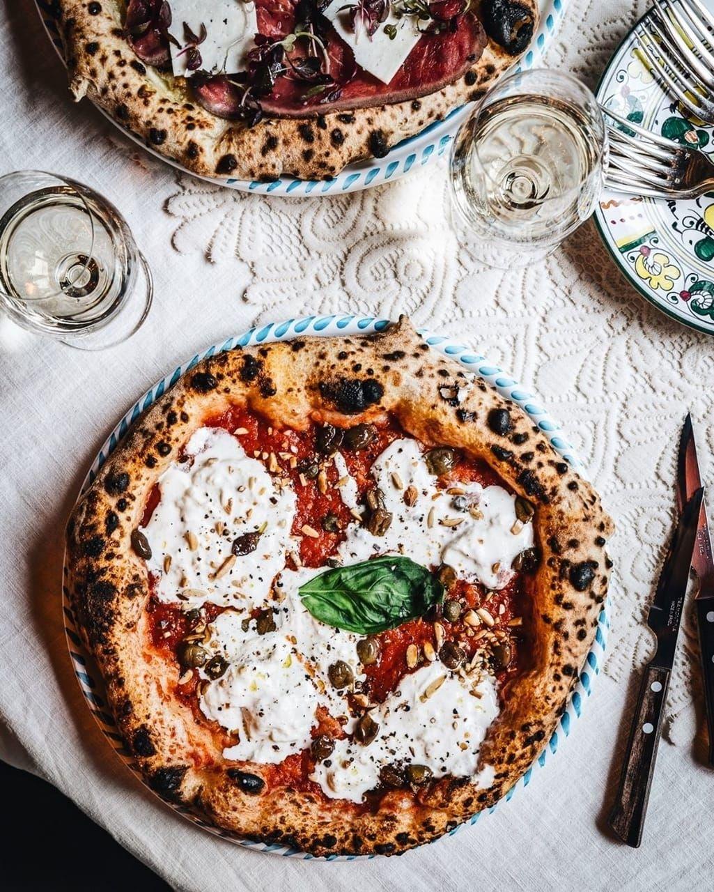 Big Mamma On Instagram Hot Like Emrata Burrata Pizza Food